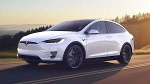 Rent Tesla Model X 100D - white (BEV)