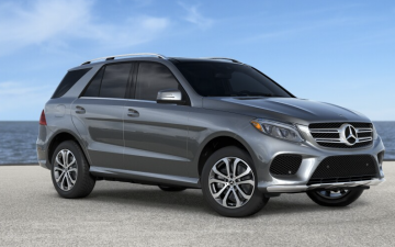 Rent Mercedes GLE 550e - grey (PHEV)