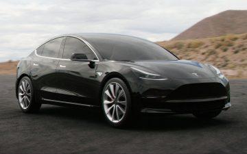 Rent Tesla Model 3 Performance - black (BEV)