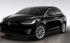 Tesla Model X 100D - black (BEV)