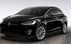 Tesla Model X 100D - black (BEV)