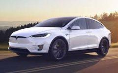 Tesla Model X 100D - white (BEV)