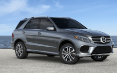 Mercedes GLE 550e - grey (PHEV)